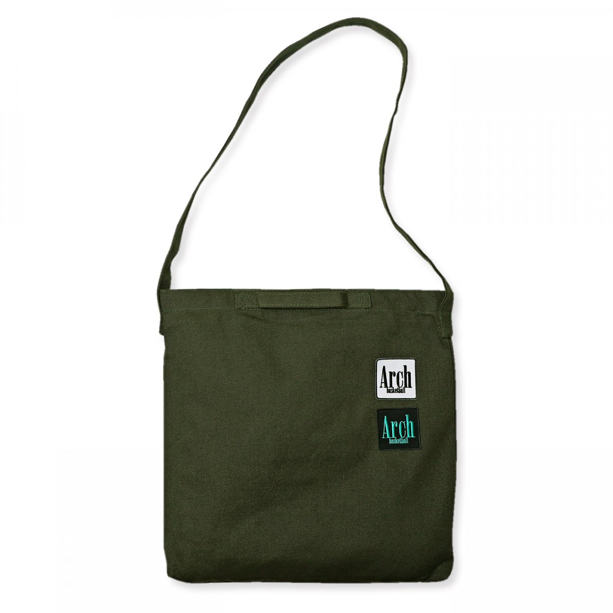 square logo 2way bag【khaki】