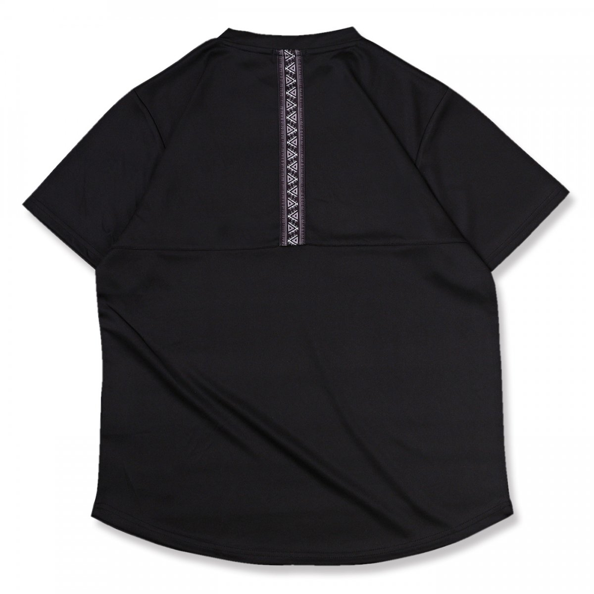エスニックライン Tシャツブラック