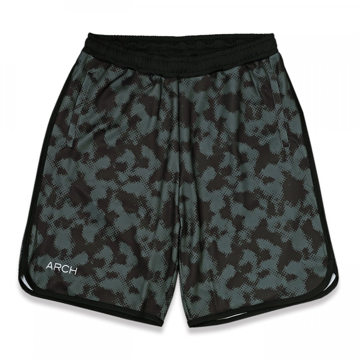 halftone camo shorts【gray】