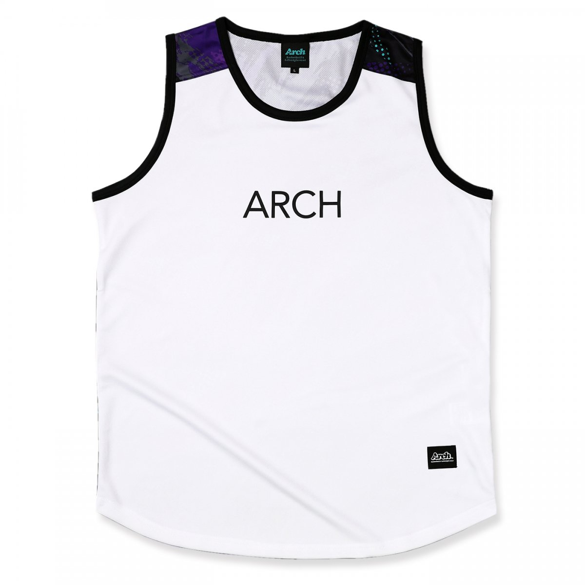 updraft tank [DRY]【white/purple】