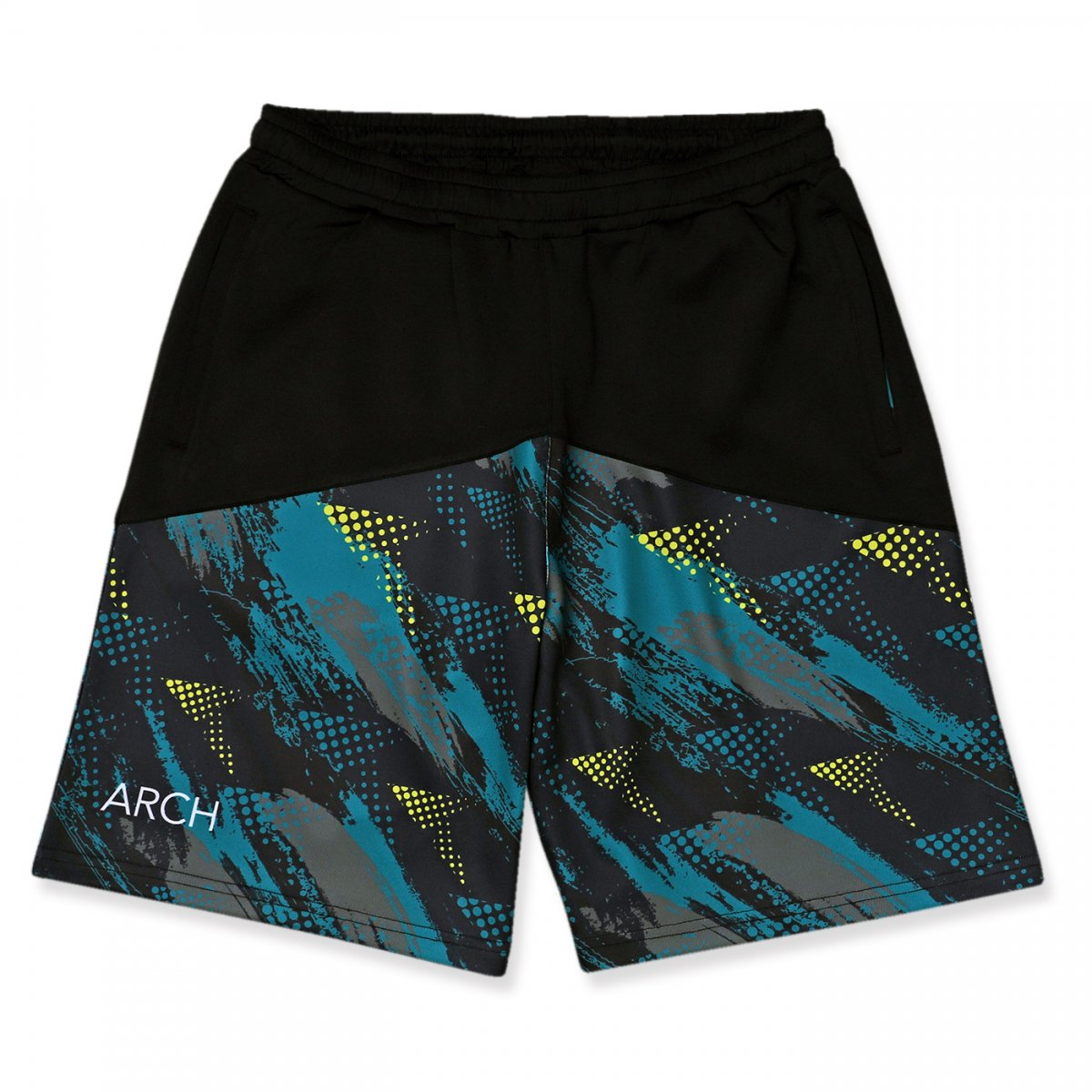 updraft shorts 【black/teal】