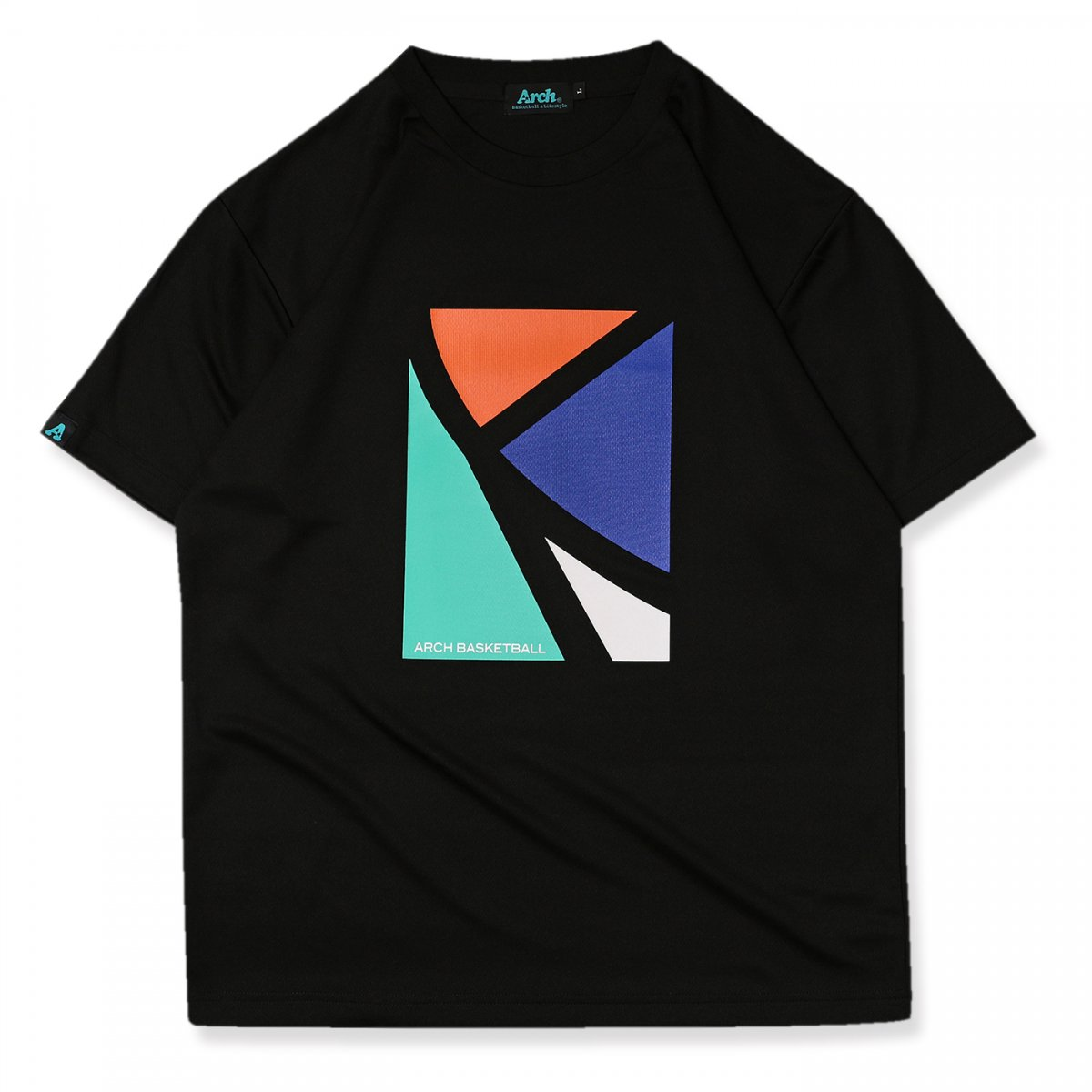 elbow tee [DRY]【black】