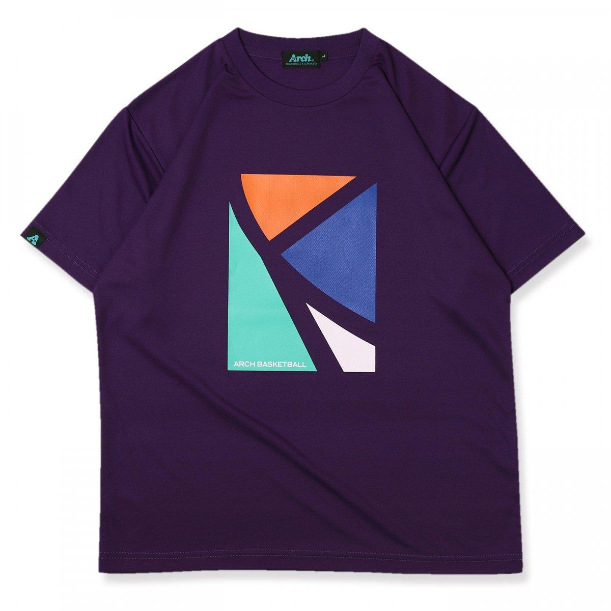 elbow tee [DRY]【purple】