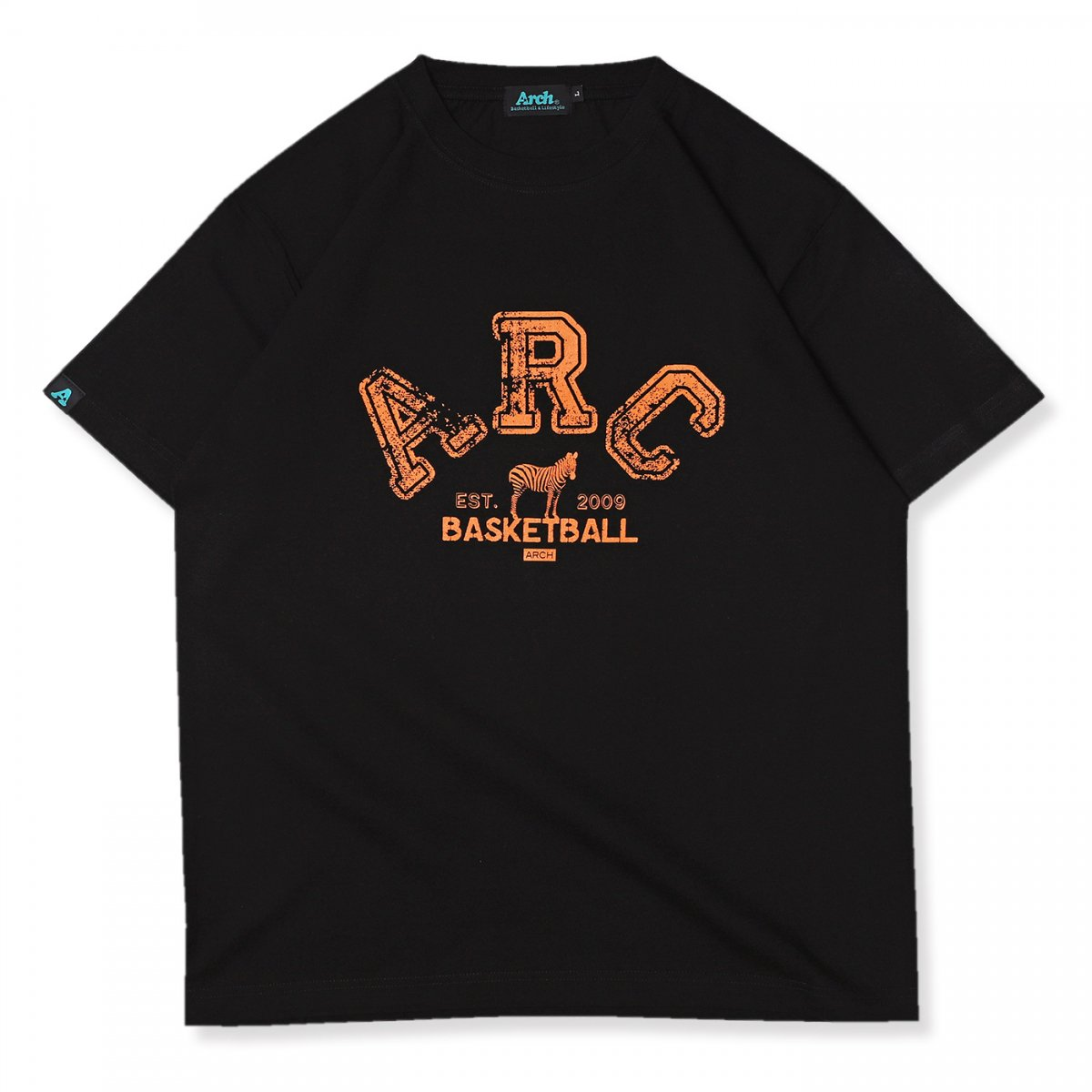 ARC zebra tee 【black】