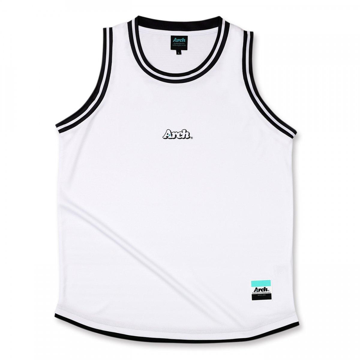 hem line tank [DRY]【white】