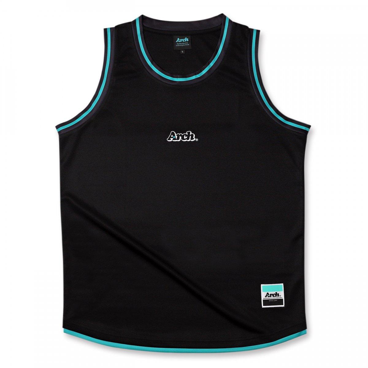 hem line tank [DRY]【black】