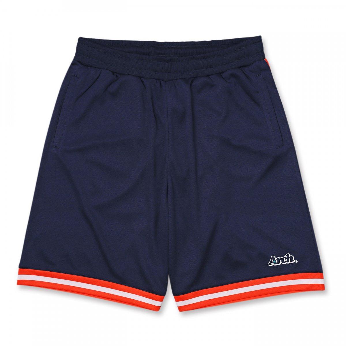 hem line shorts 【navy】