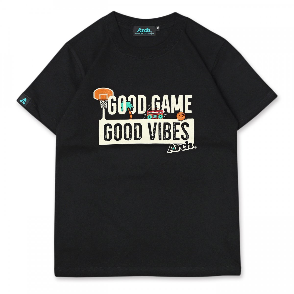 good game tee[KIDS] 【black】