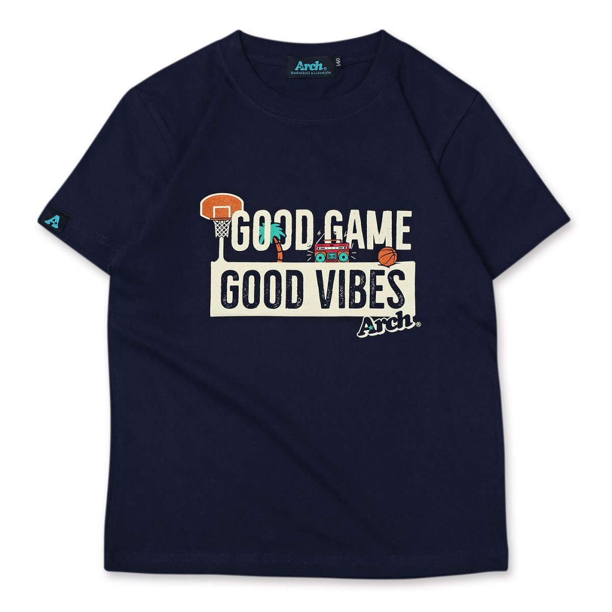 good game tee[KIDS] 【navy】