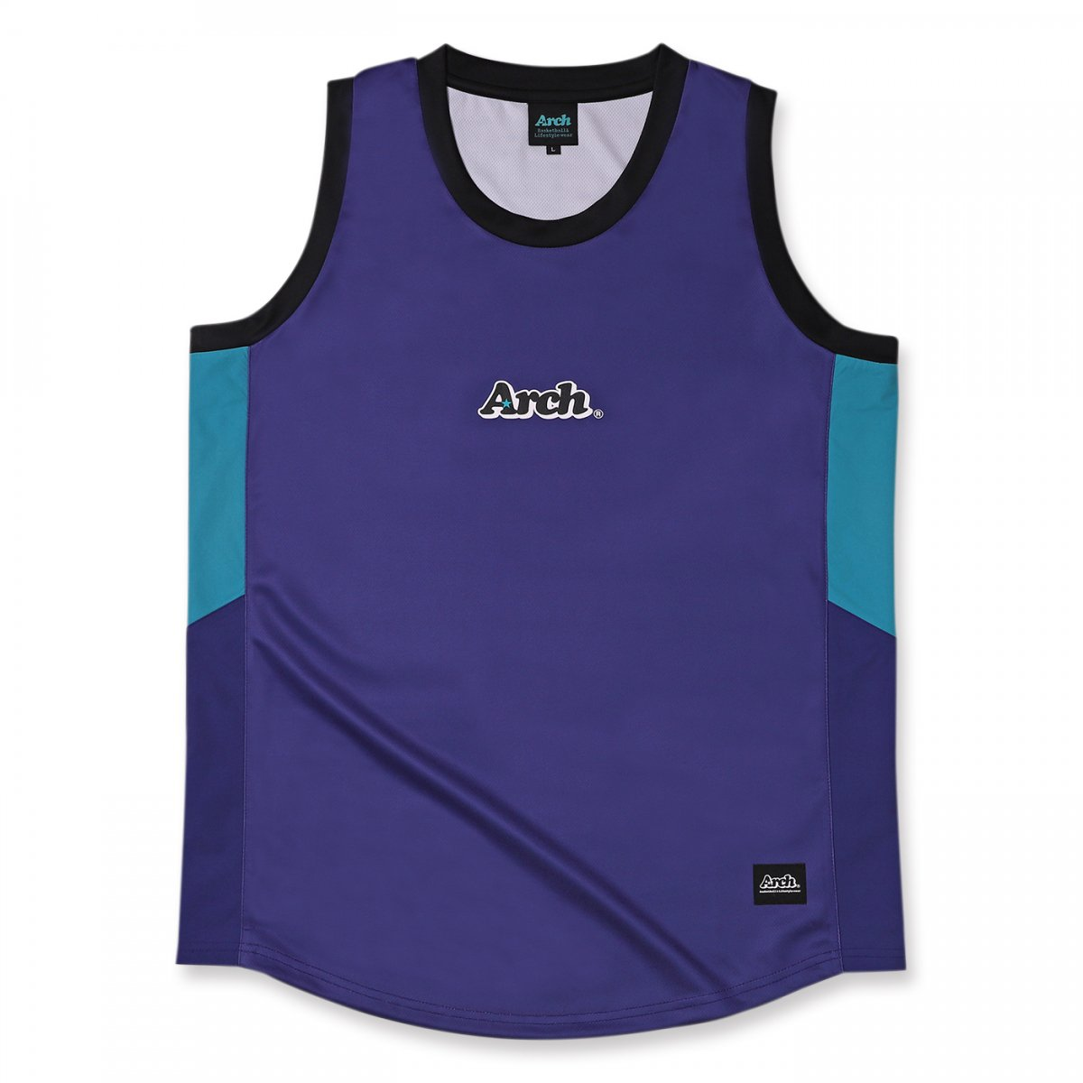 rise paneled tank [DRY]【purple】