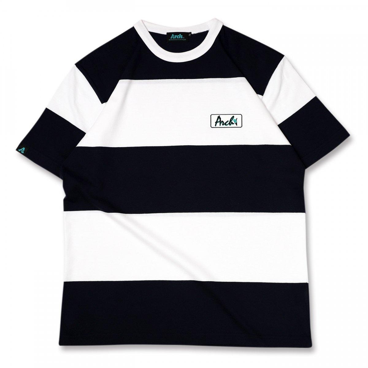 ボーダー Tシャツ ブラック/ホワイト