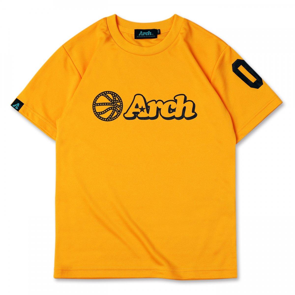 ball logo tee [DRY][KIDS]【bright yellow】