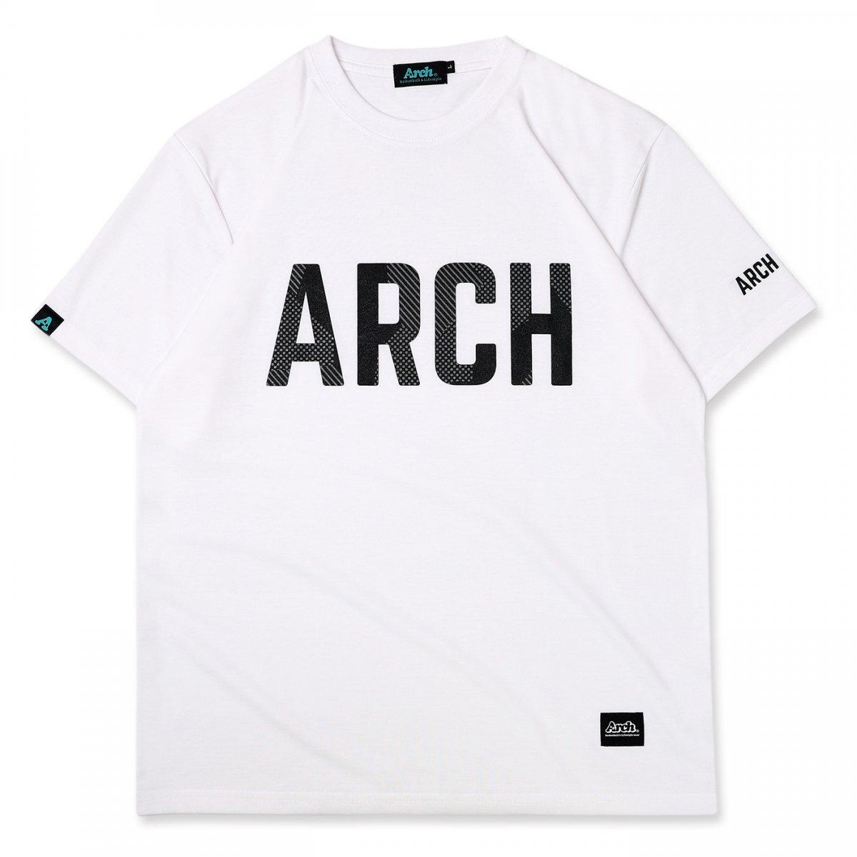 sport lettered tee [DRY] 【white】