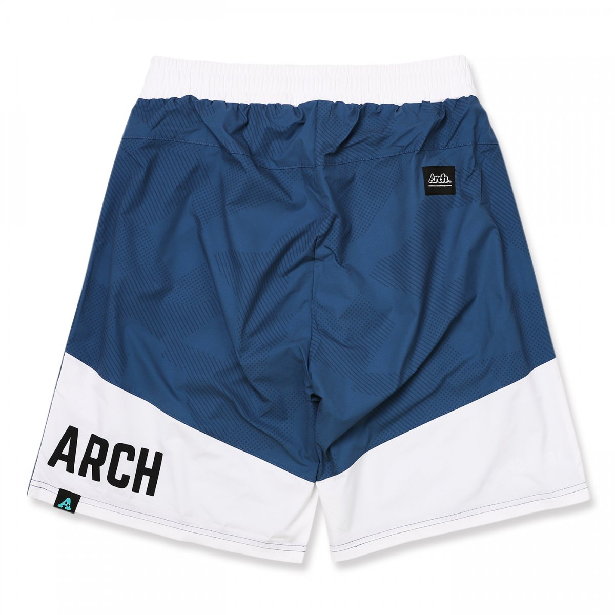 sport patched shorts 【navy blue】
