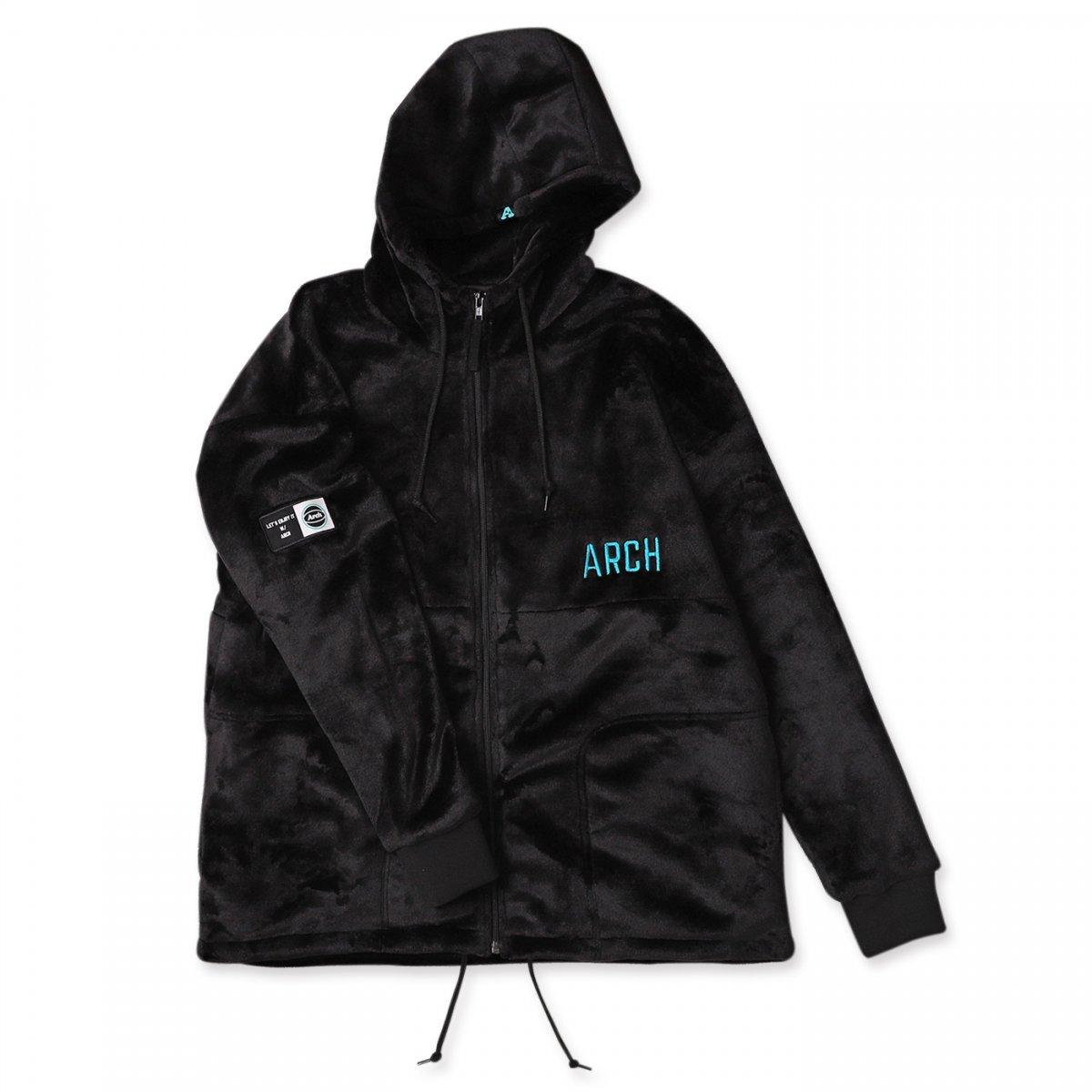 sport fleece jacket 【black】