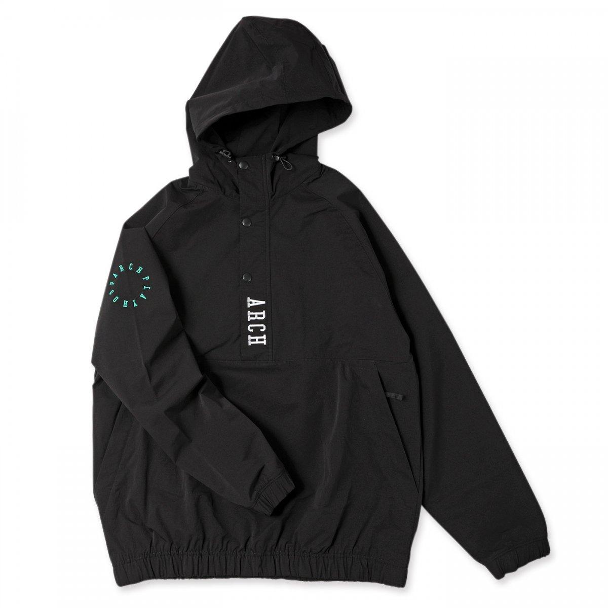 vertical anorak jacket 【black】