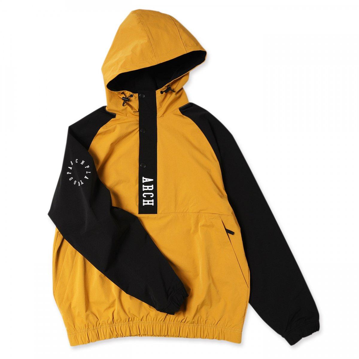 vertical anorak jacket 【mustard】