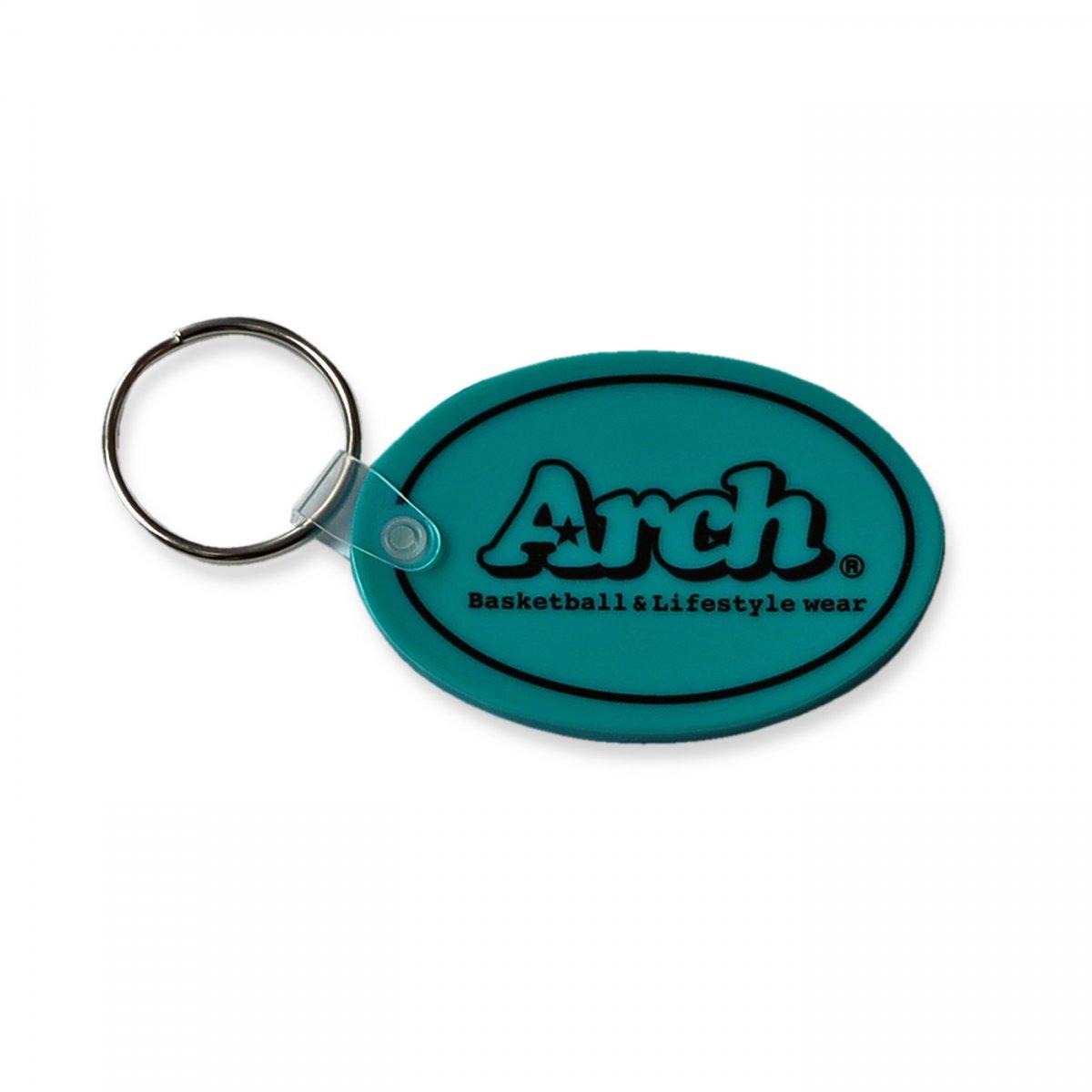 rubber key holder 【teal】