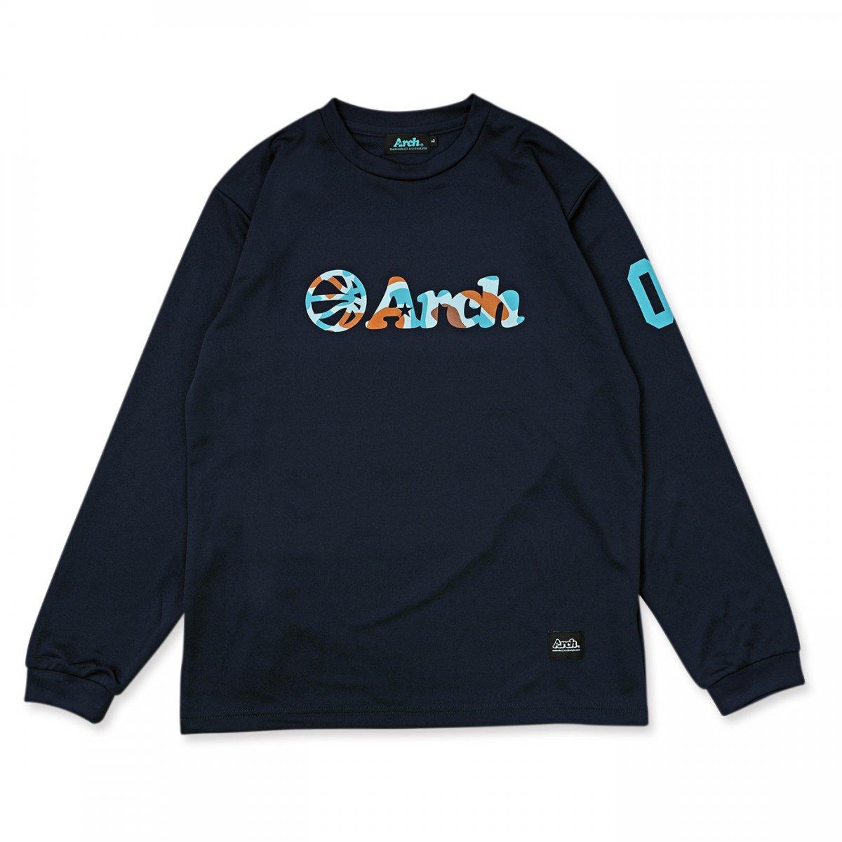 カモボール ロゴ L/Tシャツ ネイビー