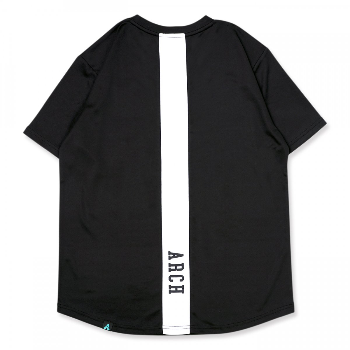 vertical tee [DRY]【black/white】
