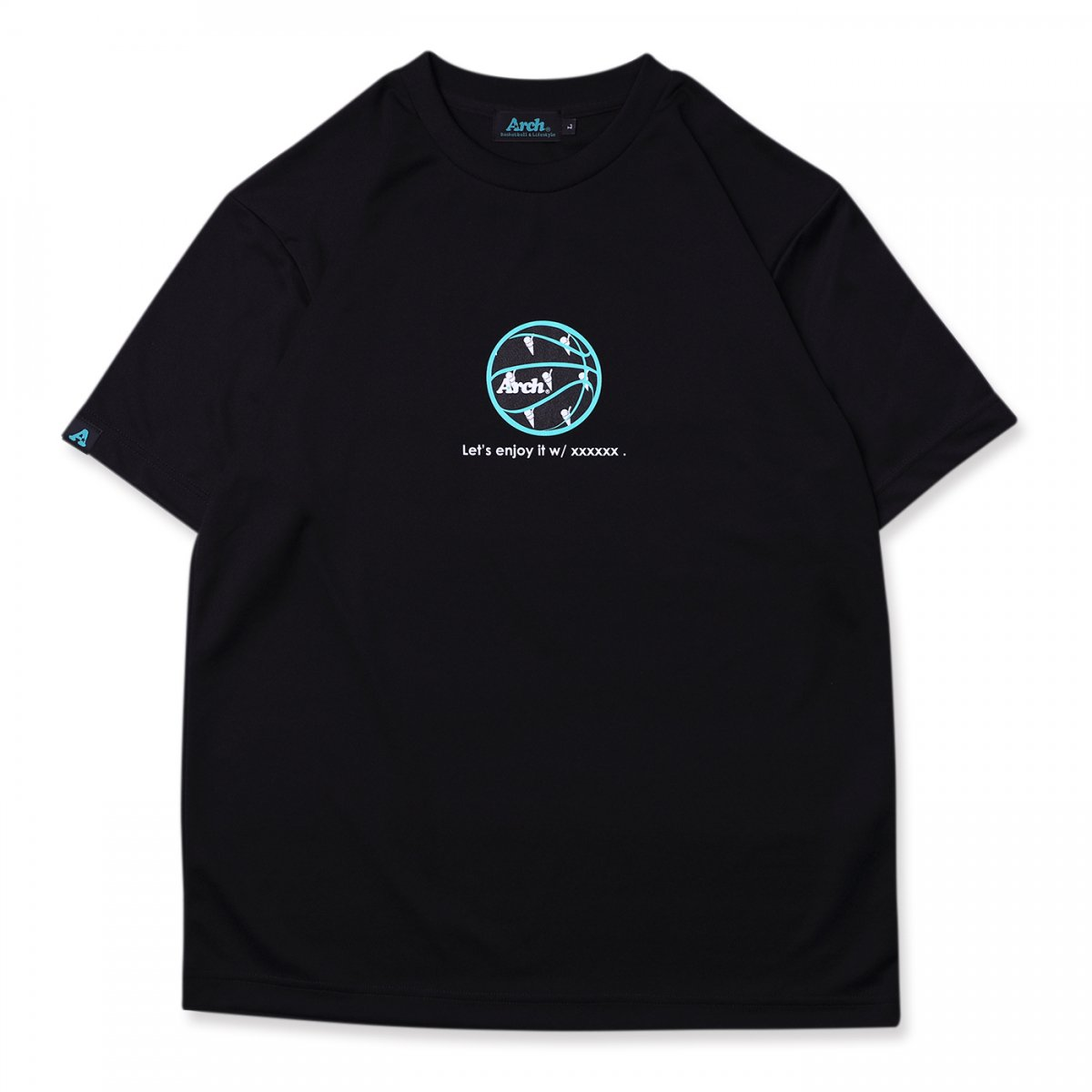 ice ball tee [DRY]【black】