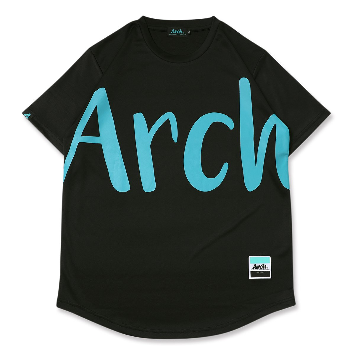 big typo tee [DRY]【black】