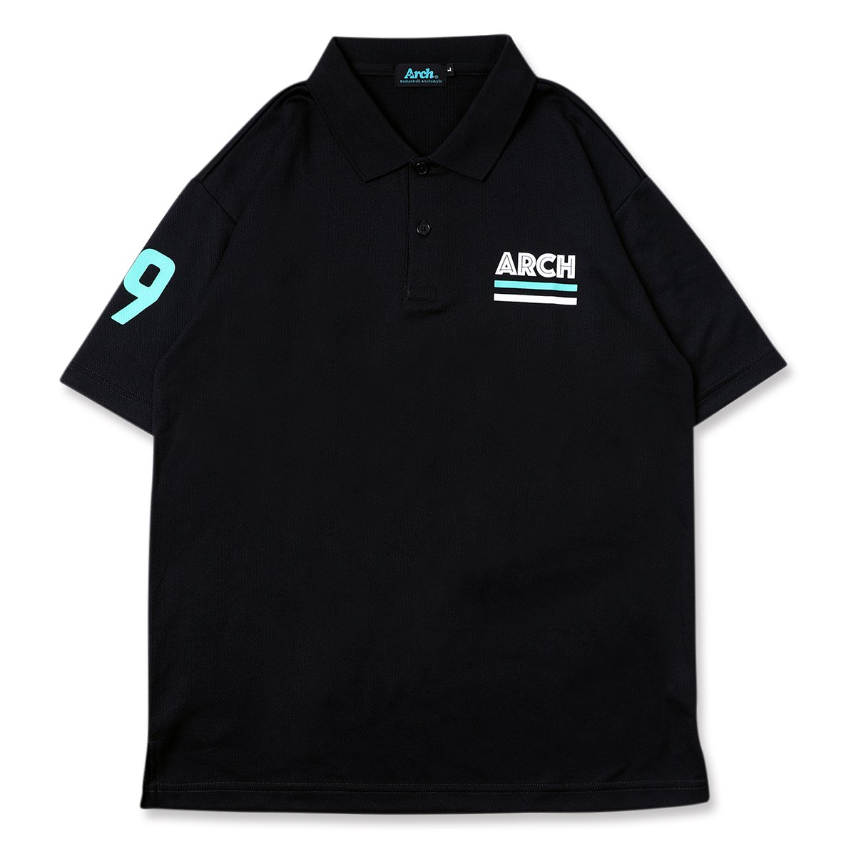 in-line polo [DRY]【black】