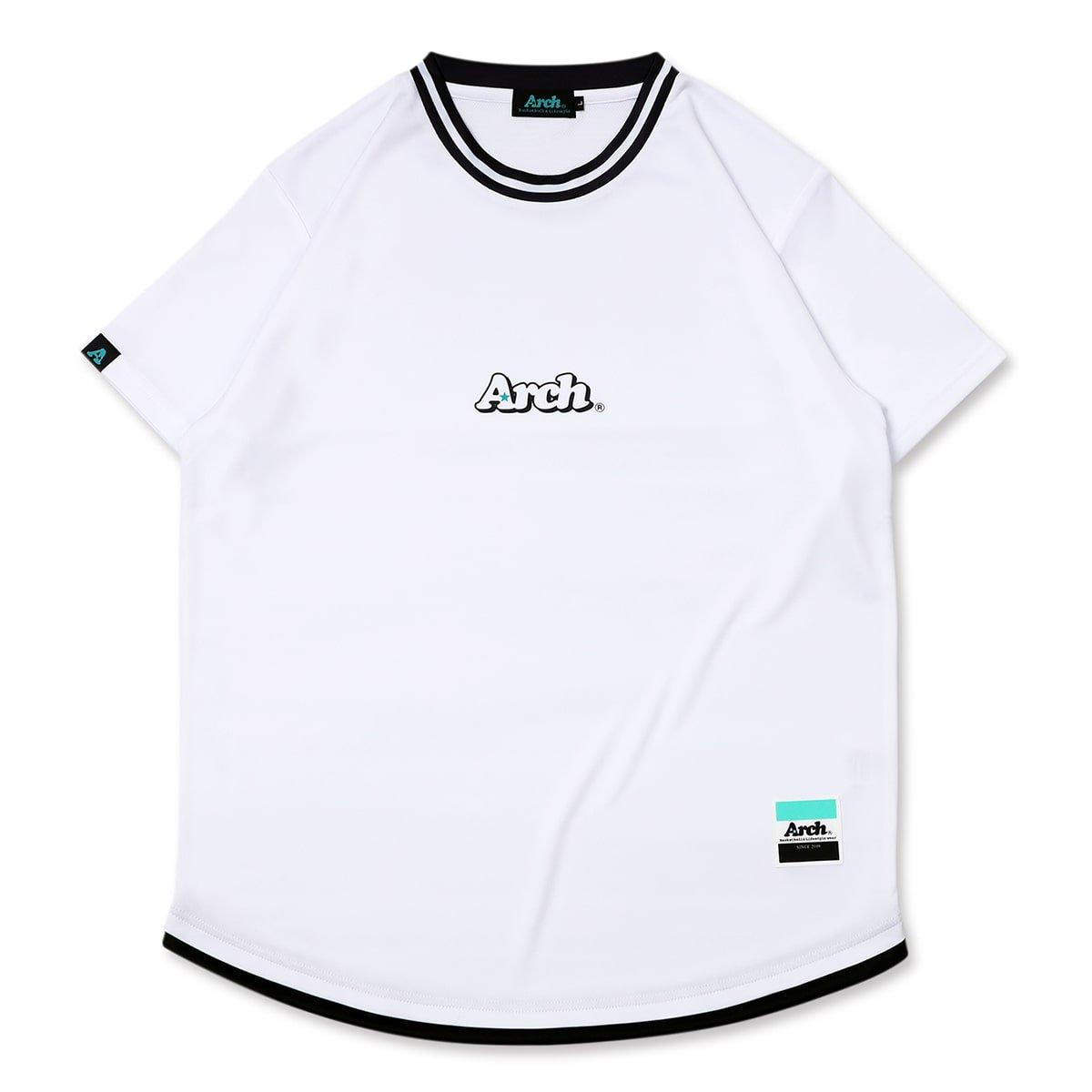 hem line tee [DRY]【white】