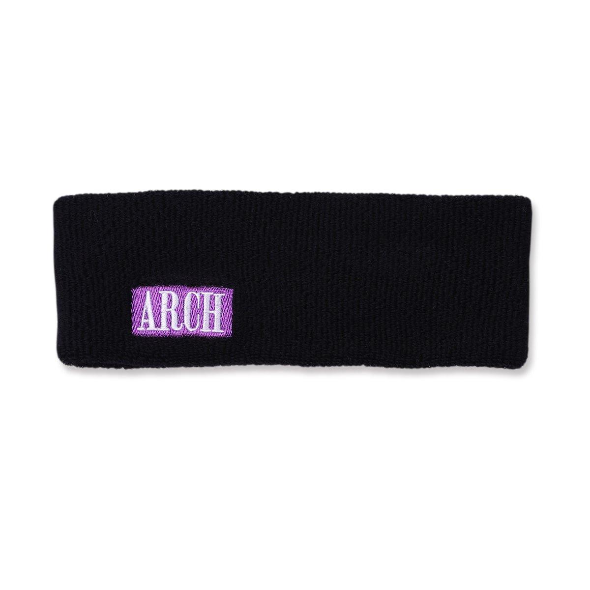 modern logo headband【black】