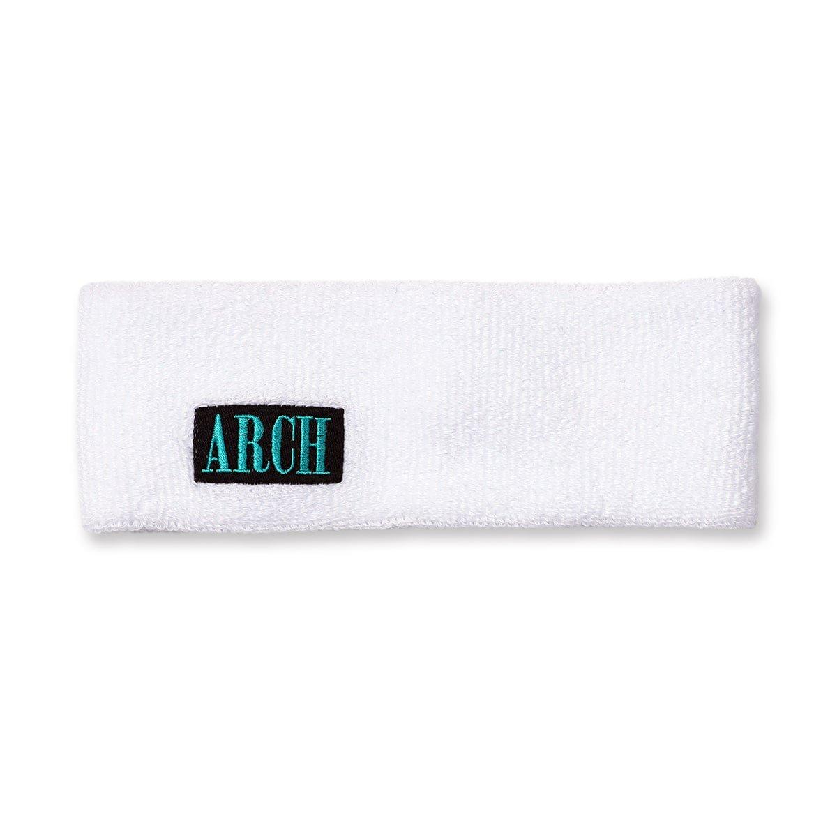 modern logo headband【white】