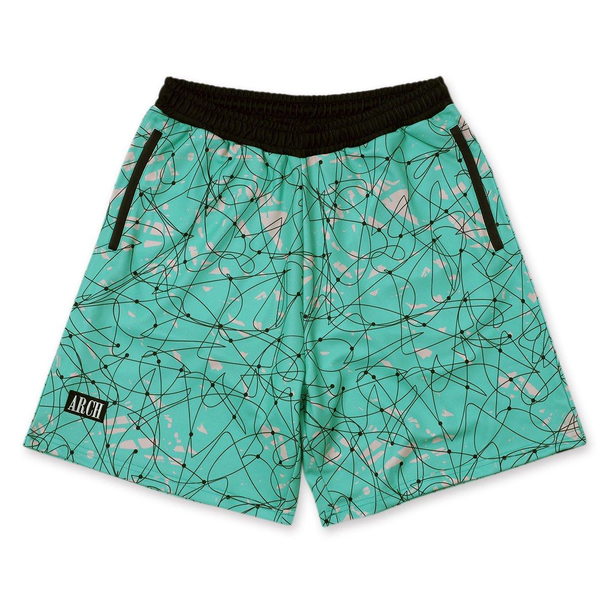 scribble shorts【mint】