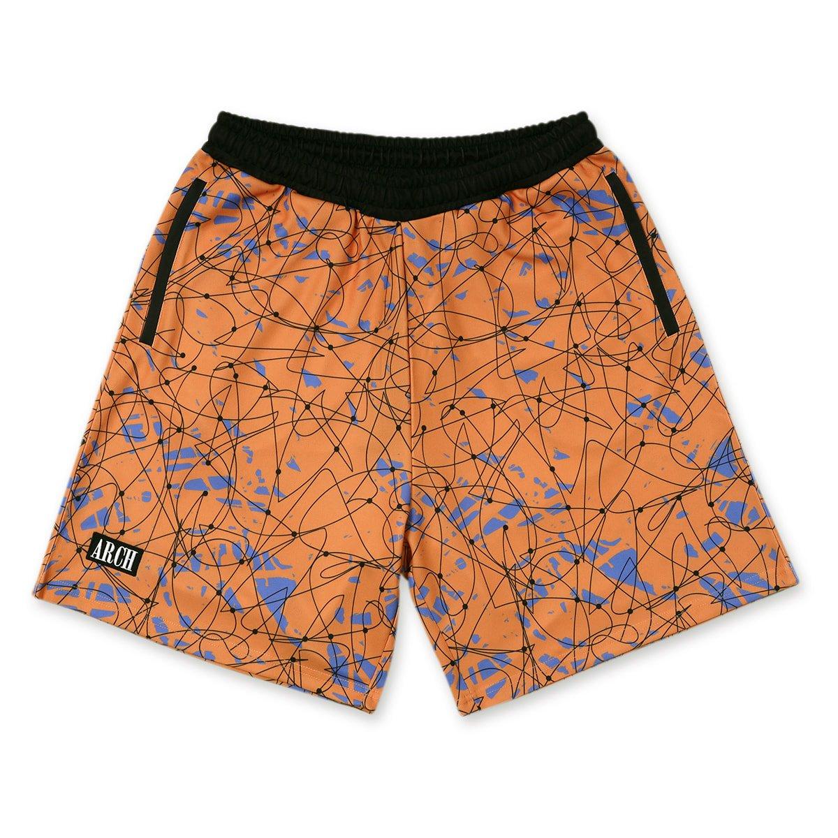 scribble shorts【apricot】