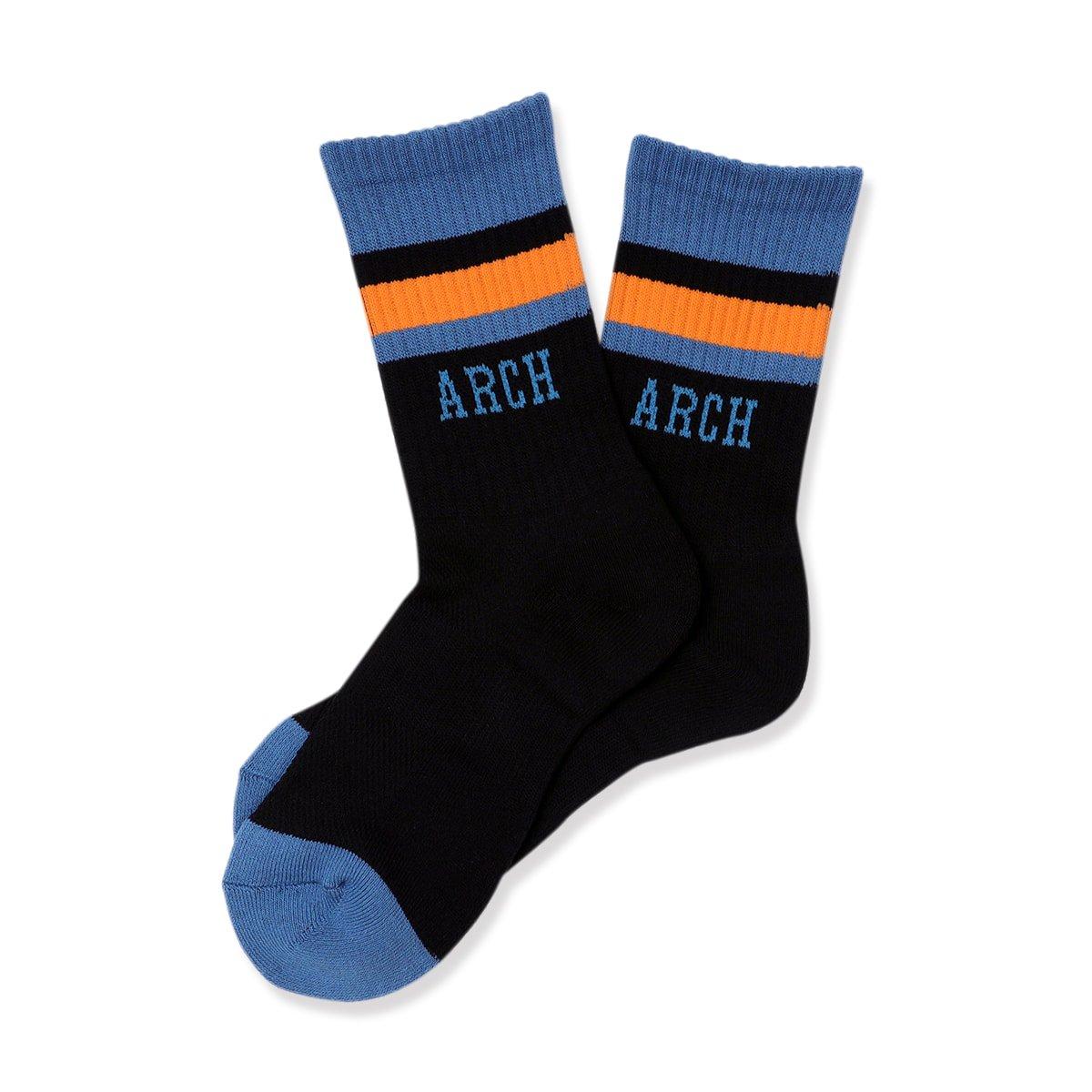 TL sport crew mid. socks【black/dark blue】