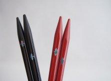 貝花菱 黒/赤