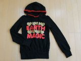 アースマジック EARTH MAGIC 子供服■パーカー/150cm★3(本体価格2680円)