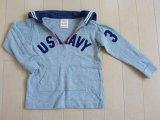 デニムアンドダンガリー デニム&ダンガリー DENIM DUNGAREE■ カットソー Tシャツ XXS 90-95cm ★3