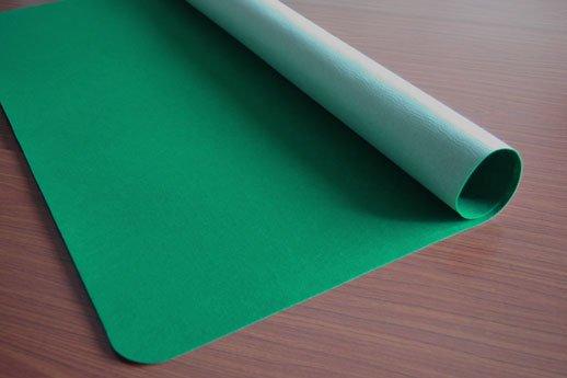 テーブルマット グリーン 厚さ1.3mm 903×908mm
