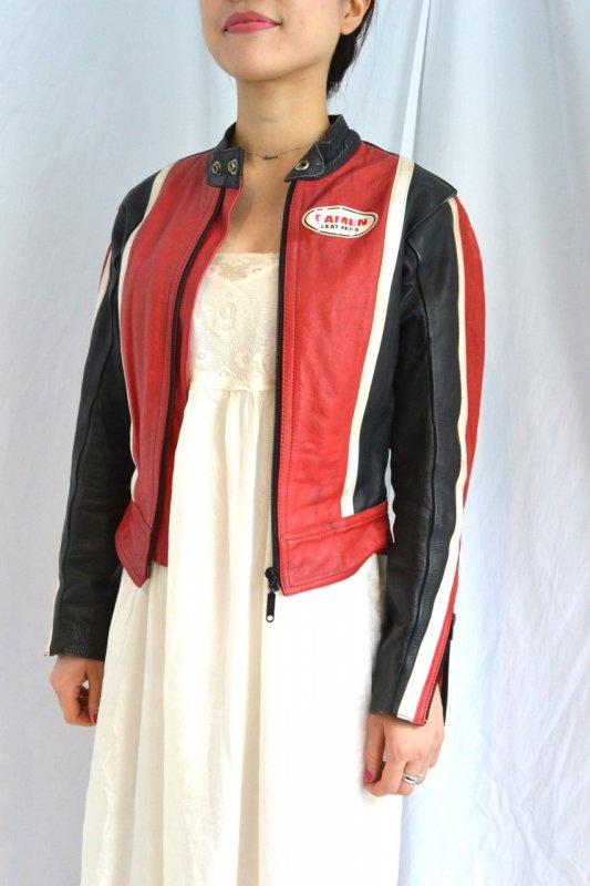 1970's-80's Vintage DAMEN single riders jacket