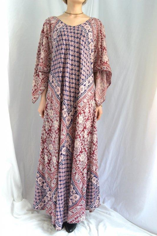 1970's vintage ethnic cotton dress