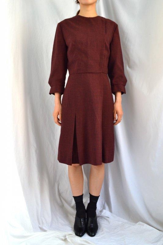 1960's vintage retro design dress