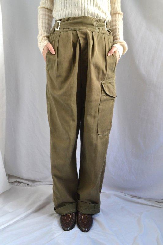 <img class='new_mark_img1' src='https://img.shop-pro.jp/img/new/icons50.gif' style='border:none;display:inline;margin:0px;padding:0px;width:auto;' />1950's British military gurkha pants