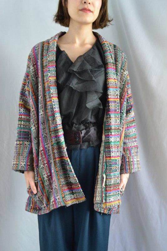 1970's Vintage ethnic rug jacket