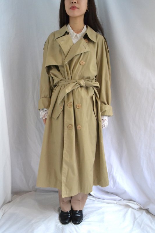 1980's Yves Saint Laurent over size vintage trench coat