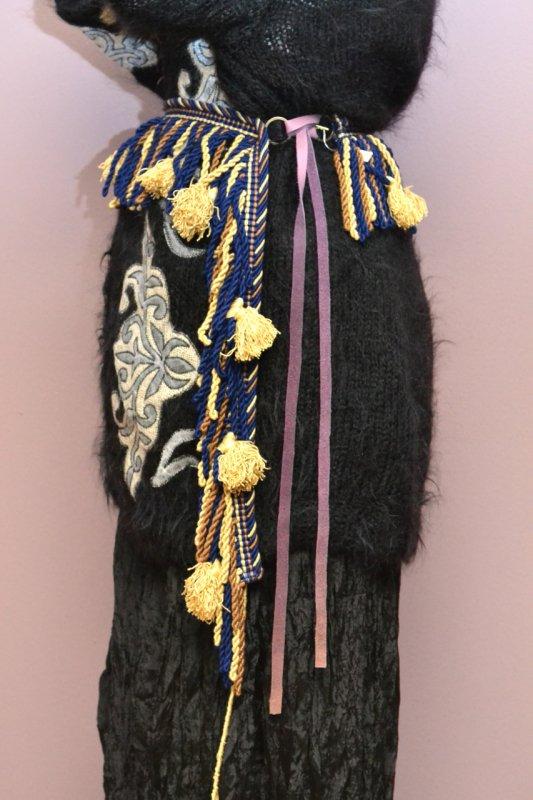 Antique tassel belt