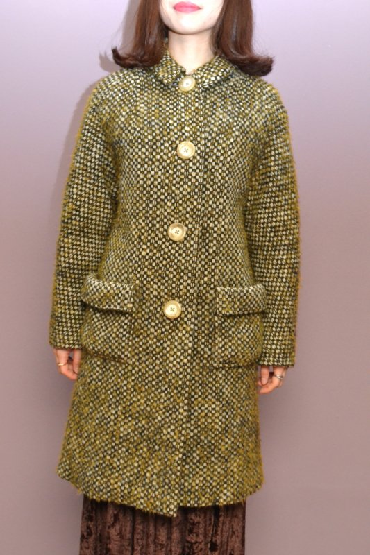 1950's Vintage special fabric coat