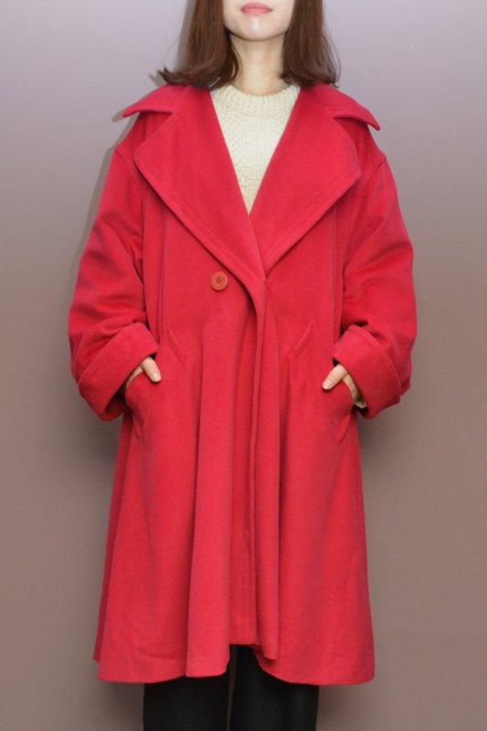 Vintage big silhouette A line coat