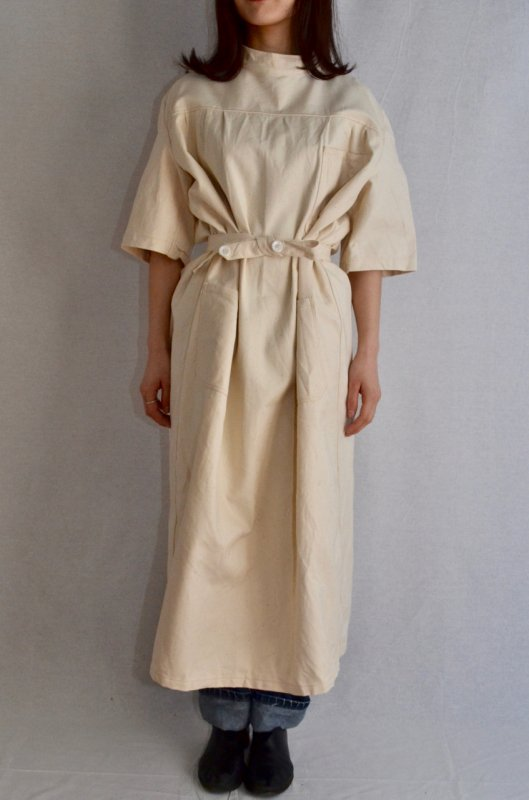 Germany vintage military medical coat dress