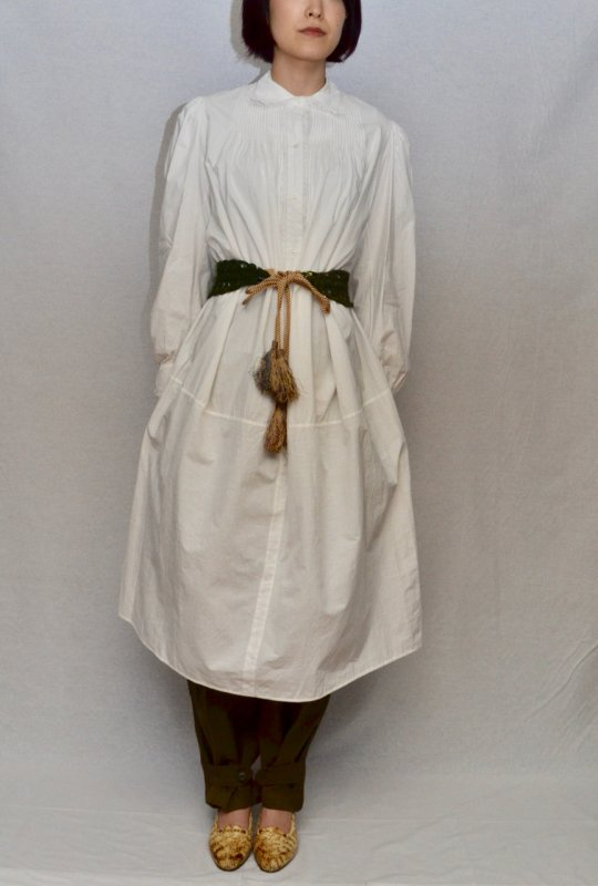 <img class='new_mark_img1' src='https://img.shop-pro.jp/img/new/icons50.gif' style='border:none;display:inline;margin:0px;padding:0px;width:auto;' />1900's France cotton long dress nightie