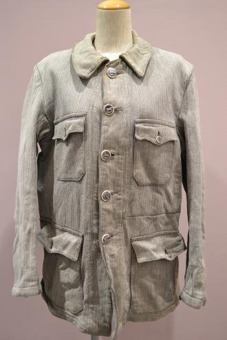 1950's France vintage whipcord hunting jacket