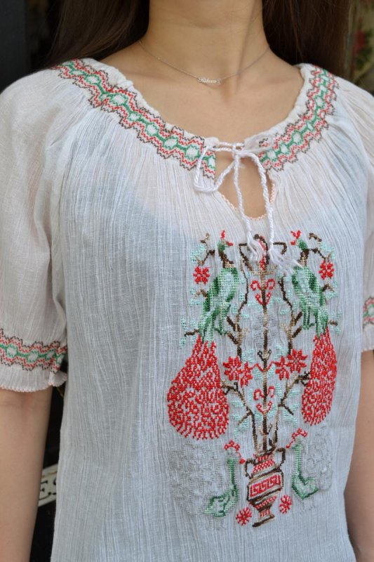 1970's vintage cheesecloth blouse